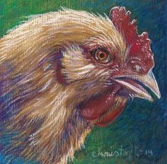 Chicken Nugget - Original Fine Art for Sale - © by emily Christoff-Flowers
