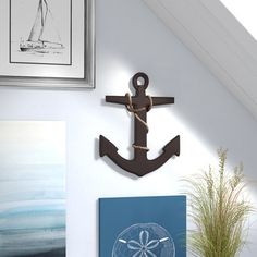 Discover the best nautical anchor decor for your coastal home. We have everything including anchor wall decor, bathroom, bedroom, and wood anchors too. Anchor Home Decor, Fetco Home Decor, Anchor Wall Decor, Compass Wall Decor, Beach Wall Decor, Tree Wall Decor, Metal Wall Decor, Anchor Decorations, Coastal Entryway