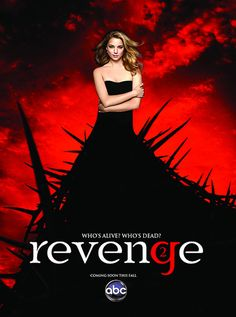 """Who's Alive? Who's Dead?"" ABC #Revenge season 2 poster!"
