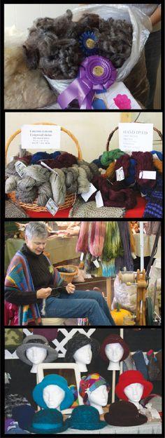 Do you like to knit, crochet, weave, spin or felt?  Don't miss the Southern Adirondack Fiber Festival.  October 4 & 5.    www.adkfiber.com