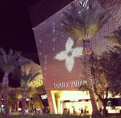 Crystals shopping mall LV, that's Las Vegas