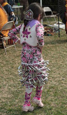 Photo by Heather Addley People Dancing, Dancing In The Rain, Native American Regalia, American Indians, Powwow Regalia, Jingle Dress, Contemporary Dresses, Pow Wow, Applique Dress