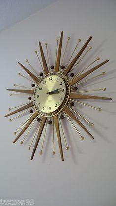 Starburst clocks: I collect them. Thanks Grandpa for the atomic addiction