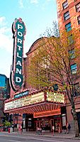 Portland, Oregon... the most hip/cool/chill place I've ever visited.  From the Northwest cuisine, brew 'n view theaters, and proximity to beautiful scenery (Mt. Hood, Columbia River Gorge, etc.)... love!