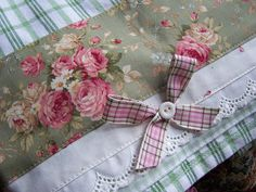 Decorative towels - Romantic kitchen decor by Decorative Towels - Created by Cath., via Flickr