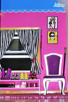 An ode to my closet: Doe Deere gives us a poetic tour of her dollhouse-inspired makeover   Offbeat Home