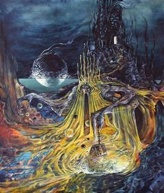 Medieval Art, Medieval Fantasy, Dark Fantasy, Gothic Horror, Horror Art, Lovecraft Cthulhu, Hp Lovecraft, Eldritch Horror, Call Of Cthulhu