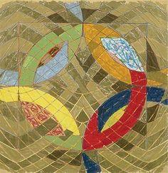Polar coordinates by Frank Stella