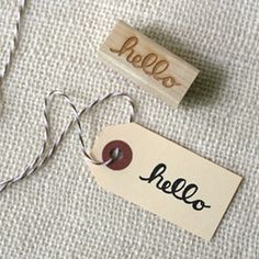 The loveliest stamps, handcrafted by Wit & Whistle