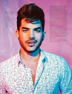 Adam Lambert Attitude Magazine Mayo 2015