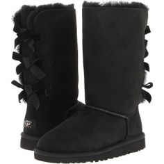 Keep in mind most UGG boots are imported from China/Vietnam. They are not made in Australia. The UGG Classic is now version UGG is now water resistant and stain resistant. Sizing tip: UGG generally runs larger than normal. Uggs With Bows, Bow Uggs, Tall Uggs, Bailey Bow, Mid Calf Boots, Ankle Boots, Ugg Boots, Boots Sale, Snow Boots