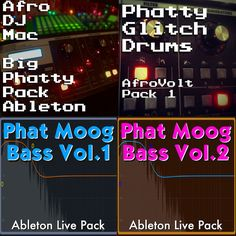 A ton of rich analog goodness at a goo price! The Moog Collection Ableton Live Packs