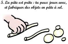 Recette de la pâte à sel : 5