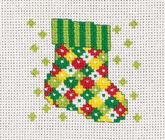 Ornaments Galore   LeisureArts.com Christmas Minis, Babies First Christmas, Diy Christmas Ornaments, Christmas Cross, Christmas Ideas, Stitching Patterns, Needlepoint Patterns, Cross Stitch Designs, Cross Stitch Patterns