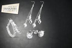 3pc Swarovski Elements Earring Set