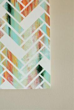 Herringbone Canvas Art