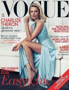 British Vogue May 2012 Cover