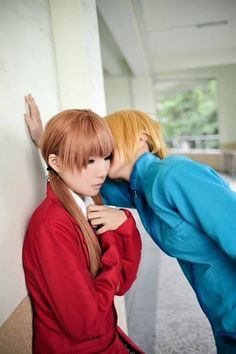 Mizutani Shizuku & Yamaguchi Kenji   Tonari No Kaibutsu-kun #cosplay #anime