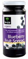 Tree of Life Organic Fruit Spread Blueberry -- 10 oz - http://goodvibeorganics.com/tree-of-life-organic-fruit-spread-blueberry-10-oz/