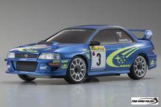 Kyosho Mini-Z MR03N RM Subaru Impreza WRC Body Set