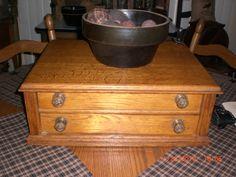 My antique spool chest.....