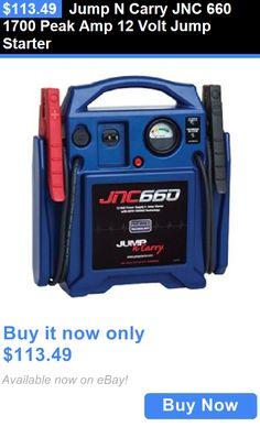Motors Parts And Accessories: Jump N Carry Jnc 660 1700 Peak Amp 12 Volt Jump Starter BUY IT NOW ONLY: $113.49