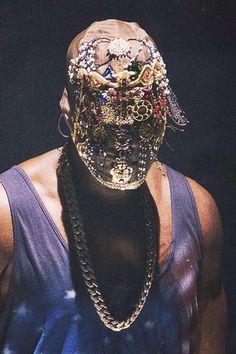 Yeezus on MMM mask