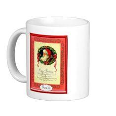 Santa's message mugs