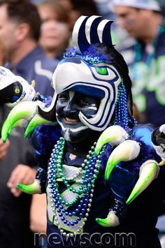 seattle seahawks fans - like i said. Seahawks Football, Seattle Seahawks, Seahawks Fans, Nfl Football Teams, Broncos, Seahawks Merchandise, Seattle Fashion, Sports Fanatics, Peyton Manning