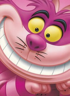 I LOVE THE CHESHIRE CAT!!!!!