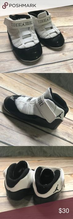 Nike Air Jordan Retro 11 378049-107 Concord Crib 4