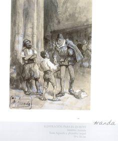 """""""Creadores de los siglos XIX y XX""""  exposición de dibujos del Fondo Artístico de Caja Castilla-La Mancha 2007 #CajaCastillaMancha #Cuenca"""
