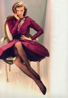 Paulina Porizkova for Vogue Paris August 1987