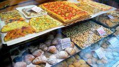 Il Fornaio, Campo dei Fiori, Rome / Potato Rosemary Pizza, Amaretti Cookies / Say No More