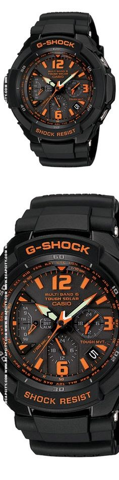 Casio G-Shock GW3000B    Orange on black!