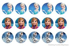 My Tales uploaded this image to 'Bottle Cap Images'. See the album on Photobucket. How To Make Headbands, How To Make Bows, Bottle Cap Crafts, Bottle Caps, Frozen Theme, Frozen Party, Frozen Characters, Bottle Cap Images, Paper Cupcake