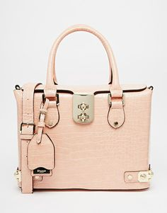 827a2daf13a4 DUNE Derocky Croc Effect Structured Tote Bag With Metal Detail. Beautiful  HandbagsTote ...
