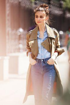 .double denim done right