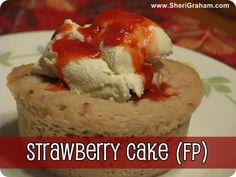 Trim Healthy Mama {Strawberry Cake - FP}