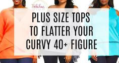 Tops that flatter a figure Curvy Plus Size, Plus Size Tops, Hourglass Figure Workout, Dressing Your Body Type, Pear Shaped Dresses, Clothes For Women Over 40, Pear Shaped Women, Dressing Over 50, Curvy Dress
