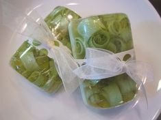 Fresh Mandrine-Lime glycerin soap