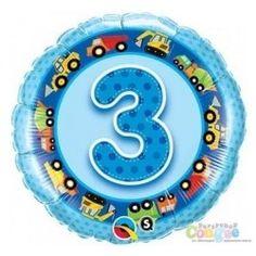"""Środa, środek tygonia, 3 dzień tygodnia ...  Nasza trójka - Balon Trójka - Niebieski Balon Urodzinowy z Helem 3 dla Chłopca 19"""" czyli 47cm - Solenizant z pewnością ucieszy:)  Czy wiecie jak długo unosić się będzie w powietrzu?   Sprawdźcie sami:)  http://www.niczchin.pl/balony-z-helem-dla-dzieci-krakow/1814-balon-urodzinowy-z-helem-niebieska-trojka.html  #balony #balon #balontrojka #balonzhelem #niczchin #zabawki #krakow"""