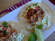 Super Bowl Special: Chicken Tinga Tacos with Pineapple Salsa — The Kitchen Witch