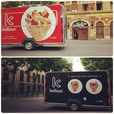 Our Kolbice Food Truck .. :)