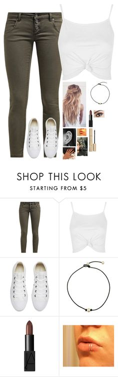 """""""1 year anniversary coming up!!!♡♡♡♡♡♡♡♡♡♡♡"""" by troylerzalfie ❤ liked on Polyvore featuring ONLY, Topshop, Converse and NARS Cosmetics"""