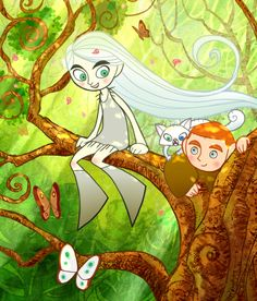 From The Secret of Kells animated film (683×800)