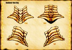 Bone Hunter Neck Ring by *Uratz-Studios on deviantART