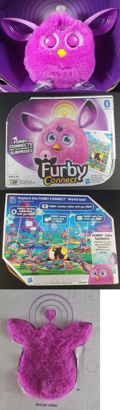Furby 1083: Furby Connect Pink Purple Hasbro New Open Box Sleep Mask App Compatible Age 6+ -> BUY IT NOW ONLY: $32.48 on eBay!