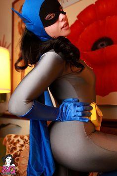 Radeo as Batgirl... so hot
