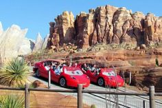 Radiator Springs Racers is the E-ticket ride at Cars Land, and a fabulous reason to visit Disneyland.